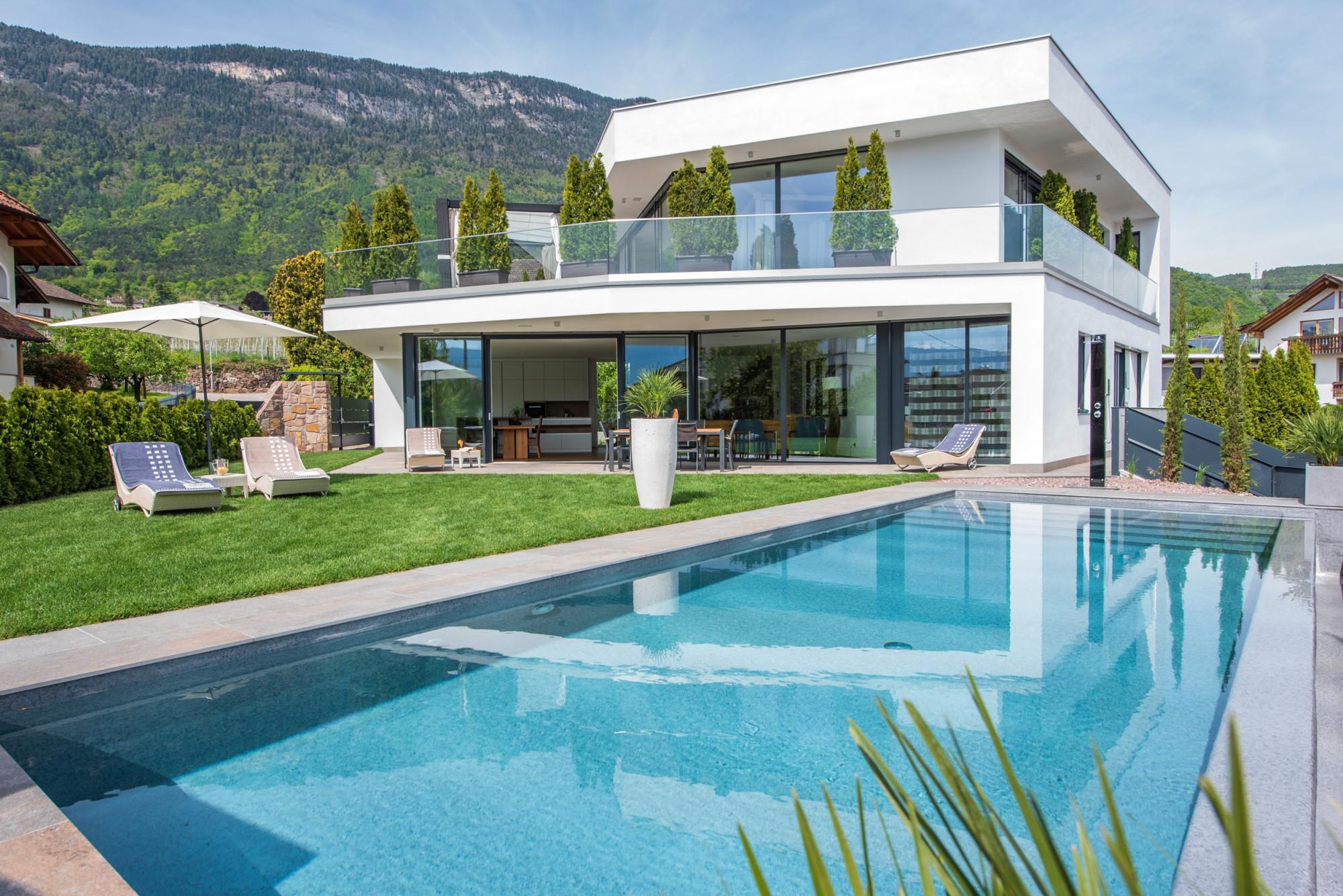 Design Ferienhaus In Sudtirol Bozen Luxusvilla Aich Mit